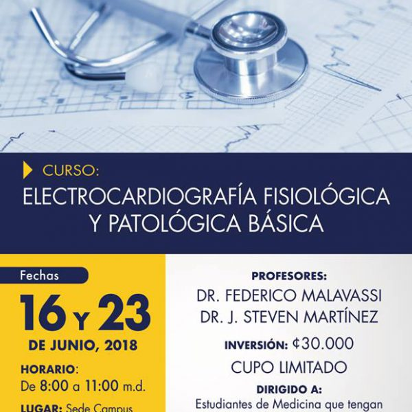 Curso Electrocardiografía Fisiología y Patología Básica
