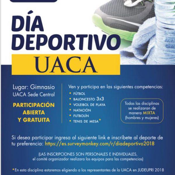 Día Deportivo UACA